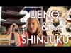 Ueno & Shinjuku|Godzilla, sushi, sintó vs. buddhizmus|TOKYO VLOG